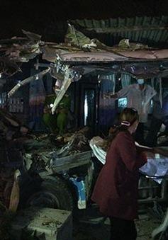 Hiện trường vụ TNGT nghiêm trọng tại Bình Thuận