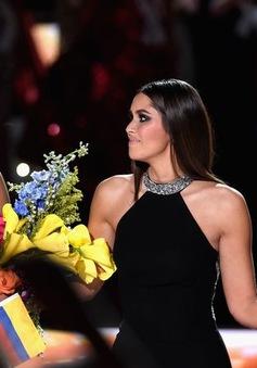 Hoa hậu Colombia không thể quên giây phút được đội vương miện