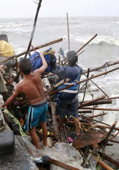 Philippines tan hoang sau siêu bão Koppu
