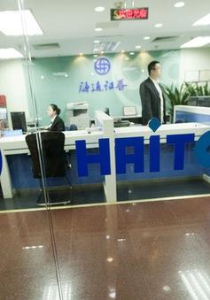 Trung Quốc điều tra 4 công ty môi giới chứng khoán