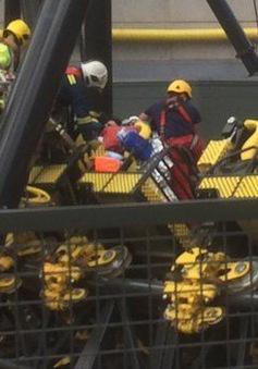 Anh: Tai nạn tàu lượn khiến 4 người bị thương nặng