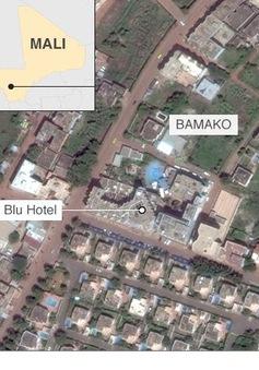 Khủng bố ở Mali: Ít nhất 3 con tin tại khách sạn Radisson Blu đã thiệt mạng