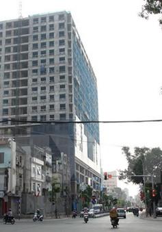 Xử phạt chủ đầu tư tòa nhà 8B Lê Trực 100 triệu đồng