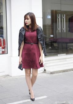 Phong cách đón đông đầy cá tính của Lưu Hương Giang