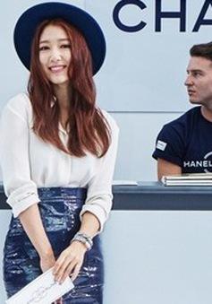 Park Shin Hye gây chú ý tại show thời trang của Chanel