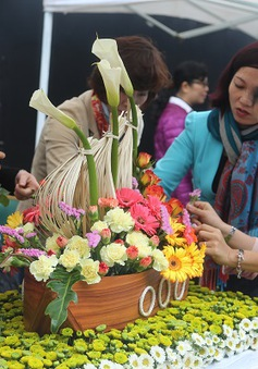 Rực rỡ sắc màu Hội thi cắm hoa nghệ thuật VTV 2015