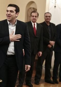 Ông Alexis Tsipras tuyên thệ nhậm chức Thủ tướng Hy Lạp