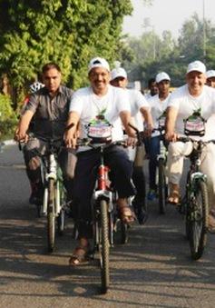 """""""Ngày không xe ô tô"""" đầu tiên tại thủ đô Ấn Độ"""