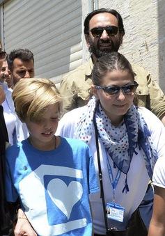 Angelina Jolie và con gái tới Thổ Nhĩ Kỳ thăm dân tị nạn