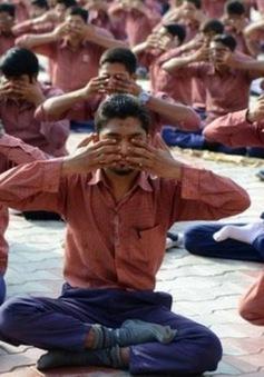 Ấn Độ náo nức chuẩn bị Ngày Yoga Quốc tế lần đầu tiên