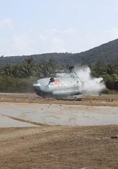 Rơi trực thăng ở Bình Thuận: Sức khỏe 3 chiến sỹ bị thương dần ổn định