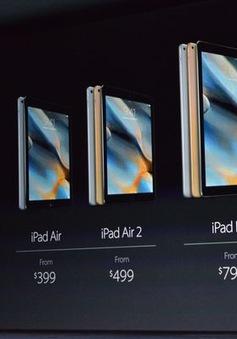"""So sánh: iPad Pro """"đập chết"""" một loạt siêu phẩm máy tính bảng"""