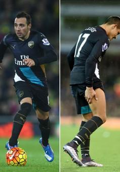 Alexis Sanchez hoàn tất 'đội hình bệnh binh' của Arsenal
