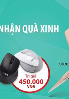 Asus tặng chuột không dây khi mua máy tính xách tay