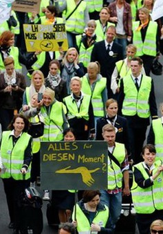 Đức: Phi công đình công, 80.000 hành khách bị ảnh hưởng