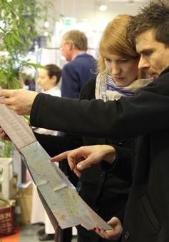 Bản đồ Việt Nam thu hút sự quan tâm tại Hội chợ Du lịch Berlin