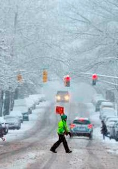 Miền Đông BắcMỹ chuẩn bị đối mặt với trận bão tuyết lịch sử