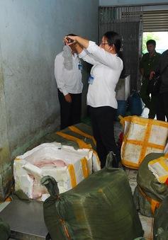 Bắt hơn 2 tấn thịt lợn bẩn có nguồn gốc từ Trung Quốc chuẩn bị bỏ mối cho các nhà hàng