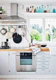 7 mẹo giúp bạn tối đa hóa khả năng lưu trữ của phòng bếp