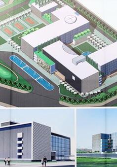 Triển khai xây dựng bệnh viện Nhi Hà Nội