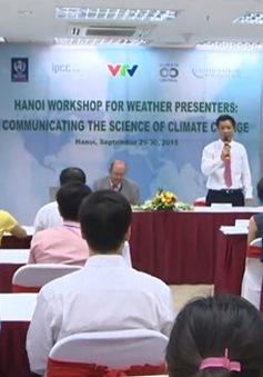 Chia sẻ phương pháp đưa tin tức thời tiết hiệu quả đến cộng đồng