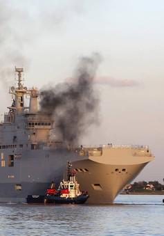 Pháp chính thức bán 2 tàu chiến Mistral cho Ai Cập