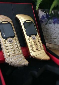 4 điện thoại xa xỉ có thiết kế cực quái dị và xấu xí