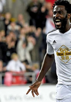 Wilfried Bony sẵn sàng ra mắt Man City trận gặp Newcastle