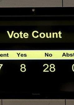 Kế hoạch cải cách bầu cử tại Hong Kong bị phủ quyết