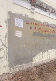 Hà Nội: Bức tường được rao bán tiền tỷ