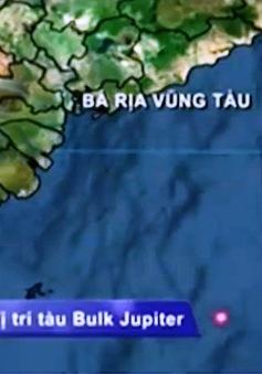 Đã tìm thấy 3 thuyền viên tàu Bulk Jupiter