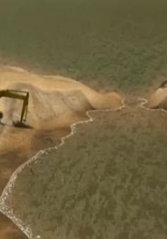 Bùn đỏ tràn ra biển 'uy hiếp' môi trường sống ở Brazil