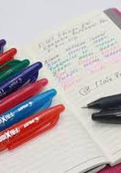 Hải quan thiếu chế tài xử lý mặt hàng bút tự xóa