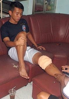 Pha triệt hạ khiến Anh Khoa phải sang Singapore phẫu thuật