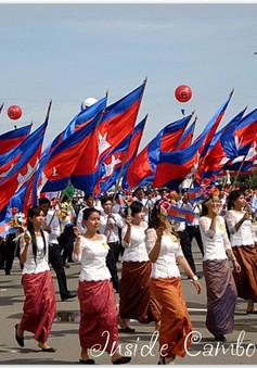 Campuchia mít tinh kỷ niệm 62 năm ngày Quốc khánh