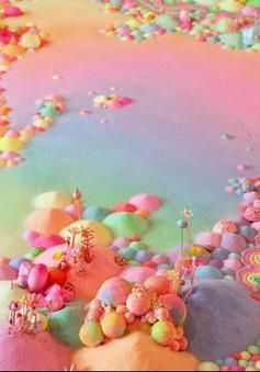 Chiêm ngưỡng xứ sở thần tiên làm từ kẹo và đường
