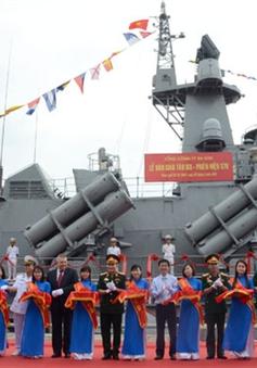 Bộ Quốc phòng bàn giao tàu cho Quân chủng Hải quân