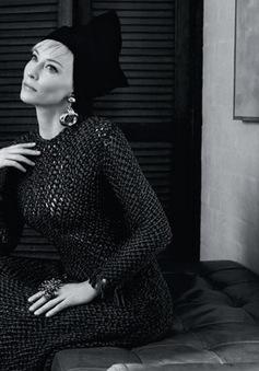 Cate Blanchett đẹp quý phái trên Tạp chí Vogue