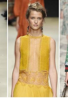 Những mẫu thiết kế đẹp nhất Tuần lễ thời trang Milan Xuân Hè 2016