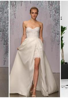Mê mẩn những mẫu váy cưới đẹp nhất Tuần lễ thời trang cưới Thu - Đông 2016