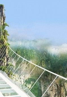 Cầu bằng kính của Trung Quốc sẽ dài và cao nhất thế giới