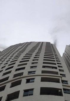 Cháy tại chung cư Linh Đàm: Hệ thống báo cháy không hoạt động