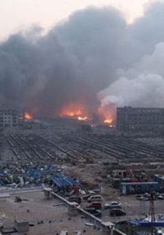 Trung Quốc huy động mọi nỗ lực cứu hộ sau vụ nổ tại Thiên Tân