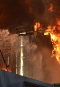 Ukraine: Nổ kho nhiên liệu tại ngoại ôKiev