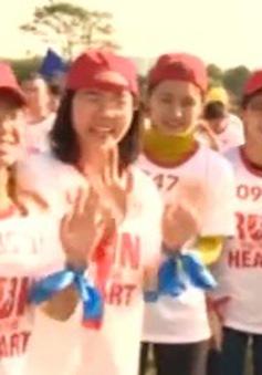 Hơn 7.000 người tham gia Ngày hội Chạy vì trái tim 2015