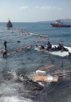 Chìm thuyền nhập cư gần quần đảo Hy Lạp, 18 người mất tích