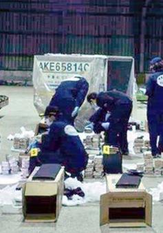 Diễn tập chống vận chuyển ma túy trên biển tại Trung Quốc