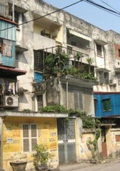 Tổng kiểm tra chung cư cũ ở Hà Nội
