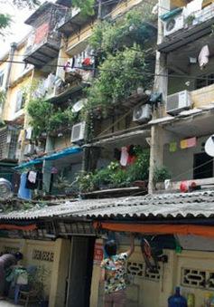 Chính sách mới về cải tạo chung cư cũ