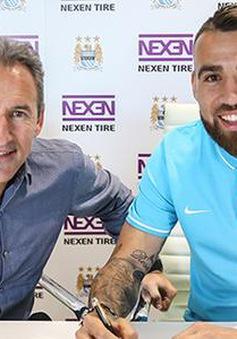 Chính thức: Otamendi về Man City với mức giá 45 triệu Euro